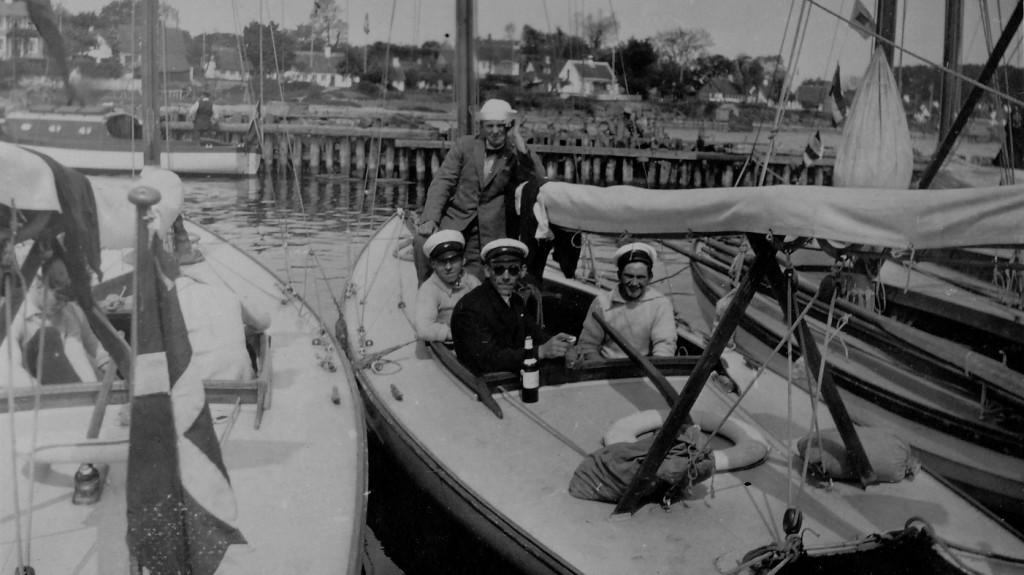 Kjøbenhavnske sejlere på tur i en stille stund